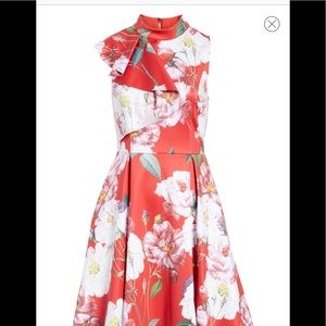 TED BAKER LONDON DRESS SIZE TWO WORN ONCE